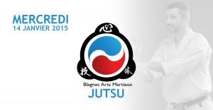 cours ju-jitsu janvier 2015 avec lionel froidure à Blagnac