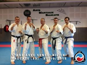 stage karate avec bernard bilicki