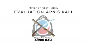 Evaluation Arnis Kali Blagnac