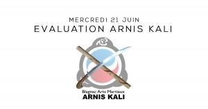 Evaluation Arnis Kali Blagnac