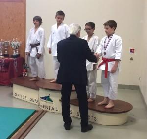 médaille de bronze en kata pour le blagnac karaté
