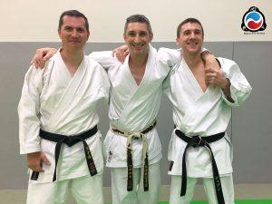 2 nouveaux instructeur de karaté à Blagnac
