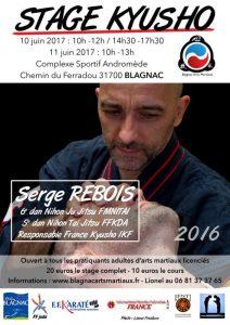 Stage Kyusho avec Serge Rebois à Blagnac