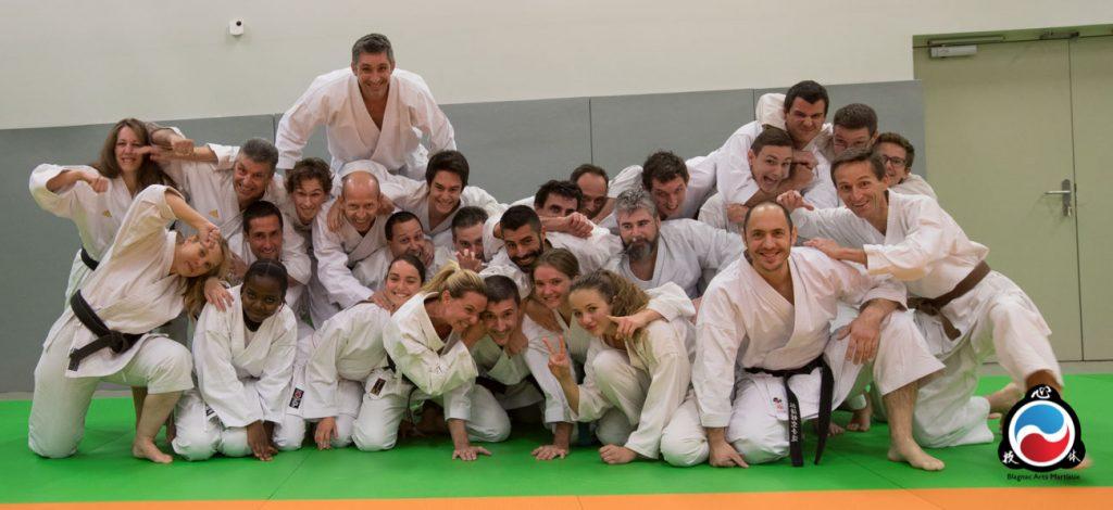 blagnac karate club - toulouse avec Lionel Froidure