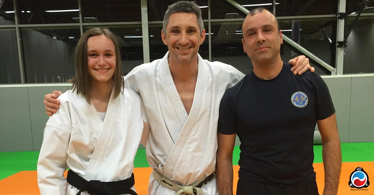 ceinture noire karate et arnis kali à blagnac