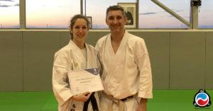Céline Benzoni - Arbitre National Kumite A Karate