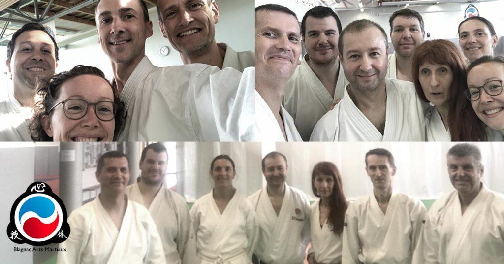 cours samedi matin karate à blagnac