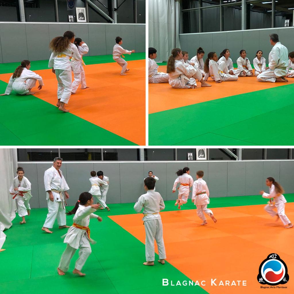 karate enfants blagnac beauzelle