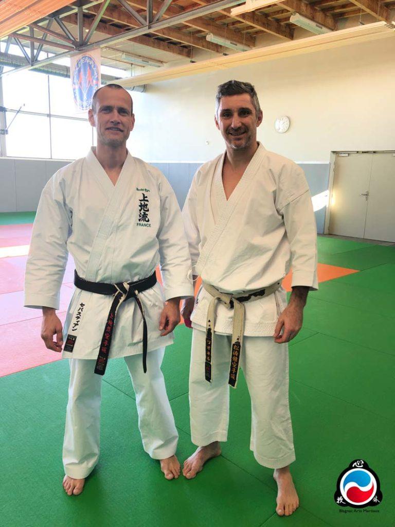 Sébastien Langlais et Lionel Froidure - Karaté à Blagnac