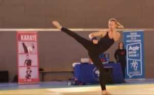 florence hajjar karate blagnac - medaille or 2020